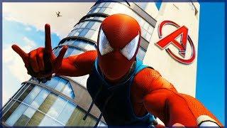 VISITAMOS LA TORRE AVENGERS Y NUEVO TRAJE - SPIDERMAN #2