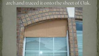 DIY Solar Screens for Arched Windows
