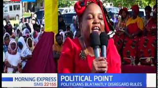 Politicians blatantly disregard rules |Political Point