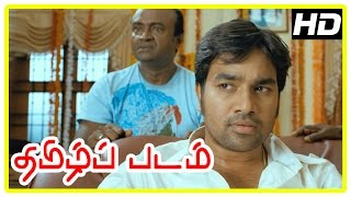 Thamizh Padam Movie Scenes | Delhi Ganesh himself | Shiva cancels his engagement | Disha