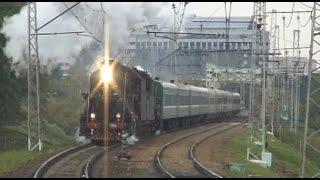Ретро-поезд Москва - Бородино с паровозами Л (09.2012)