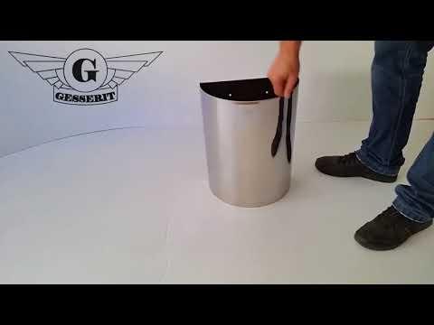 15 liter edelstahl, rostfrei Mülleimer Abfallsammler Abfalleimer, für Sanitär, WC, Bad, Badezimmer