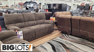 BIG LOTS FURNITURE SHOP WITH ME 2021 COUCHES, RECLINERS, SECTIONALS, ARMCHAIRS