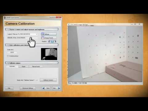 Make A 3D Scanner Out Of A Webcam And Laser Pointer