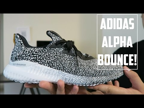 3129df3bd adidas ALPHA Bounce Performance Overview + On Foot!