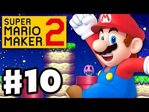 Super Mario Maker 2 — Gameplay Walkthrough Part 10 — Dodging