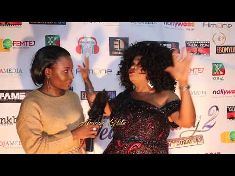 THE WEDDING PARTY 3? - Sola Sobowale Reveals During London Premiere Interview