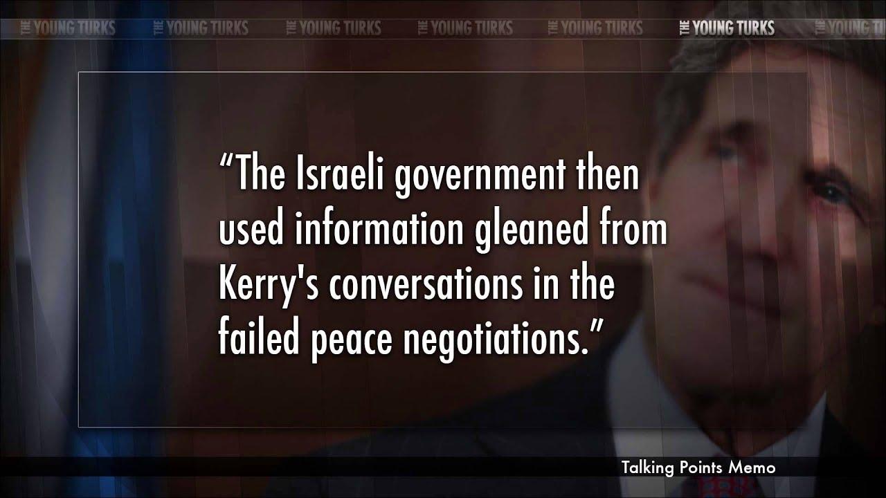 Israel Wiretapped John Kerry During Peace Talks thumbnail