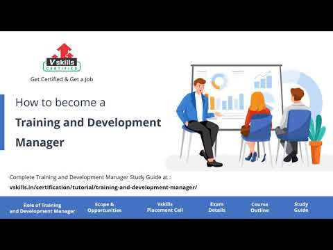 How to become a Training and development Manager - YouTube