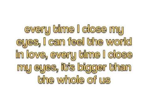 The One - Mark Owen (lyrics)
