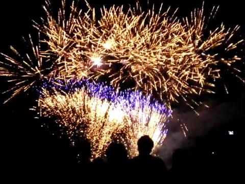 Vuurwerkshow Cuijk VierdaagseFeest 2014