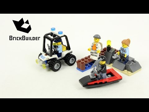Vidéo LEGO City 60127 : L'ensemble de démarrage de la prison en haute mer