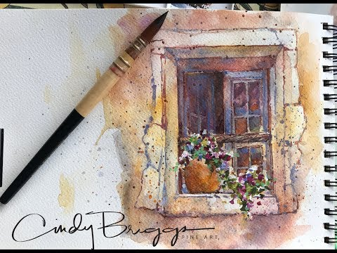Painting Workshop in Provence with Daniel Smith Watercolors