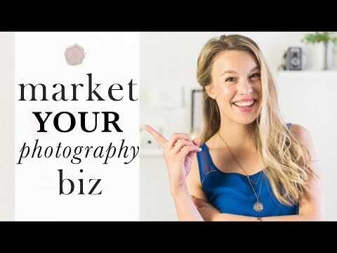 5 way to market your photography business