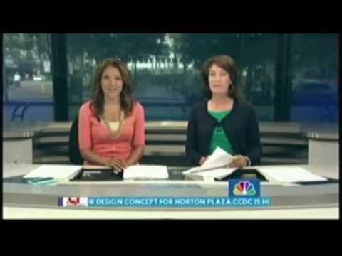 Fox Blocks on TV News KNSD San Diego NBC features Insulated Concrete Forms