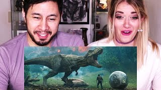 JURASSIC WORLD FALLEN KINGDOM | Trailer Reaction w/ Bri Rivers!