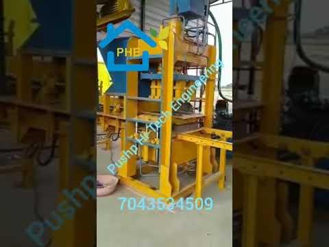 PMA-10 Automatic Hydraulic Fly Ash Brick Making Machine