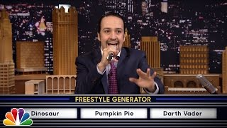 "Wheel Of Freestyle With Lin Manuel Miranda (from ""Hamilton"")"