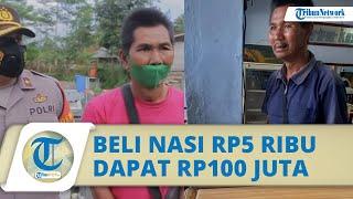 Penjual Agar-agar di Garut Beli Nasi Padang dengan Uang Rp5 Ribu, Kini Dapat Donasi Rp100 Juta