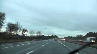 preview picture of video 'Driving On The M57 Motorway From J1 To J6 Fazakerley, Merseyside, England 9th November 2012'