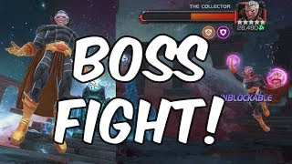 The Collector - Act 5 Chapter 2 Final Boss Fight - Marvel Contest Of Champions
