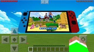 WORKING NINTENDO SWITCH in Minecraft! NO MODS! (Pocket