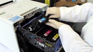How to refill your Brother HL-L8250cdn, HL-L8350cdw, DCP-L8400cdn, DCP-L8450cdw