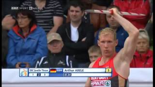 European Championship Zurich 2014- Javelin Throw