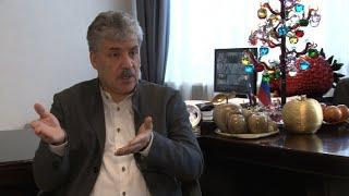 Интервью П.Н.Грудинина (23.03.2018)