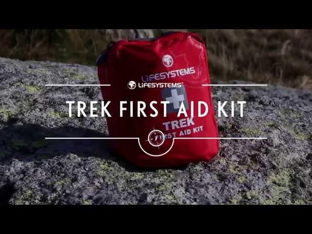 Видео Аптечка Lifesystems Trek First Aid Kit