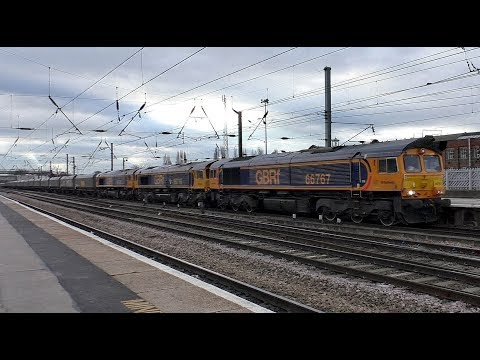Trains on the East Coast Main Line at Doncaster 5th December…