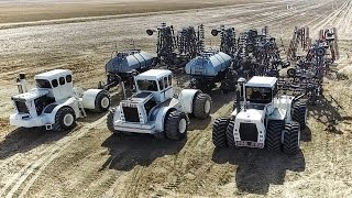 Welker Farms 2016 - Part 1 - Seeding - Big Bud Tractors