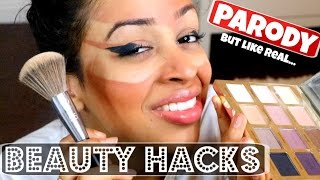THE WORLD'S BEST BEAUTY HACKS!