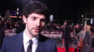 Colin Morgan at the Testament of Youth premiere (vidéo n°3)