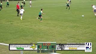 Tippecanoe Valley Soccer vs Rochester