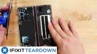 Samsung Galaxy Z Fold2 5G Teardown: 3rd Time's The Charm?