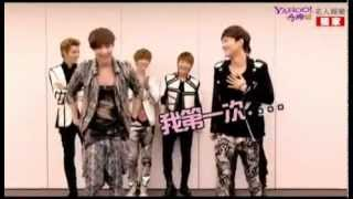 [ENG SUB] EXO-M Yahoo Interview 121121 (Part 3/4 - Dance Lesson)