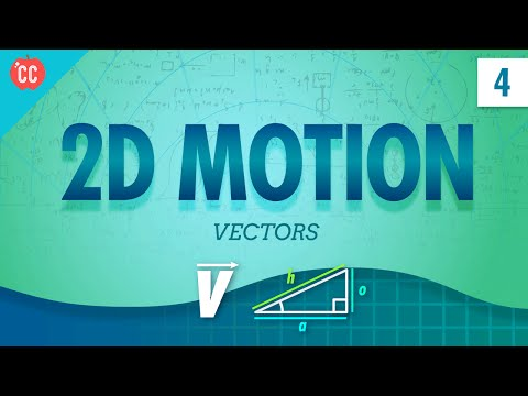 Vectors and 2D Motion: Crash Course Physics #4