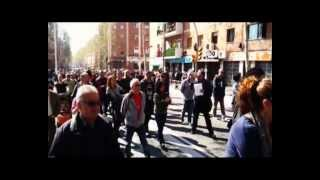 preview picture of video 'Nou Barris per la Vaga General #29M'
