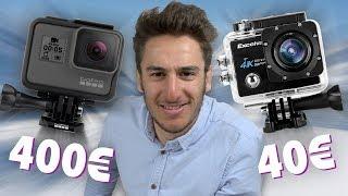 GoPro (400€) VS ActionCam (40€)