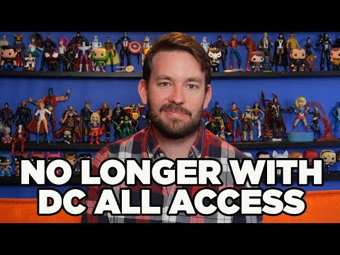 I'm No Longer on DC All Access - Jason Inman