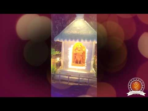 Vijay Rewale Home Ganpati Decoration Video