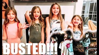 We SNUCK into a CLOSED POOL and got CAUGHT! FT Leah and Ava Clements (The Clements Twins)