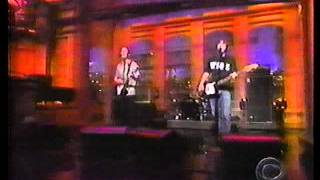 Fastball 'The Road' on Late Show live in studio performance