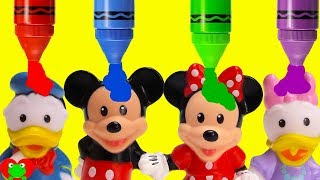 Mickey Mouse Clubhouse Friends Preschool Learn Opposites and Colors