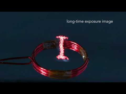 Японские исследователи представили миру очень странных роботов-светлячков