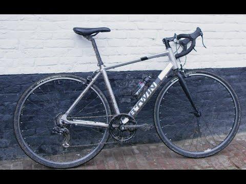 Btwin Triban 100 Flat Bar Road Bicycle