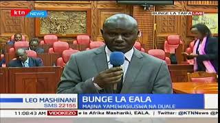 Bunge la EALA: Viongozi wa Jubilee wafika mbele ya seneti kuwasilisha ratiba ya watakao wawasilisha