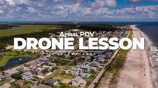 Fernandina Beach - Amelia Island Drone Lesson with Aerial POV