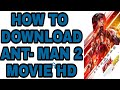 HOW TO DOWNLOAD 🐜 ANT- MAN 2 HD / in hindi